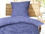 Seersucker Bettwäsche Kölsch rot, 100% Baumwolle mit Reissverschluss